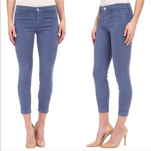 J. Brand Anja Ankle Cuff Jeans in Moonlight Blue
